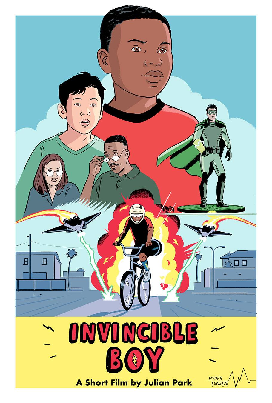 Invincible Boy Poster (2018)