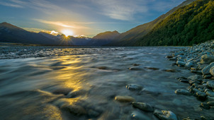 Waimakariri River, Arthur's Pass National Park.