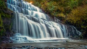 Purakaunui Falls, The Catlins.