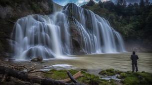 Waking up to waterfalls