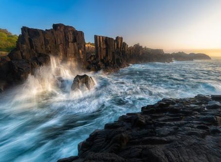 Crashing Waves, Bombo Quarry