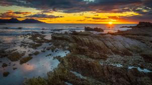 Sunrise in Kaikoura