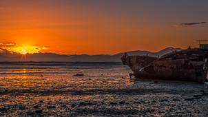 Sunrise in Motueka
