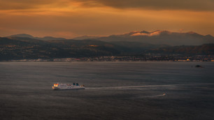 The Cook Strait Ferry