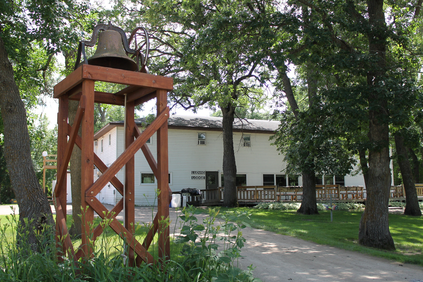 The Lodge and Dinner Bell