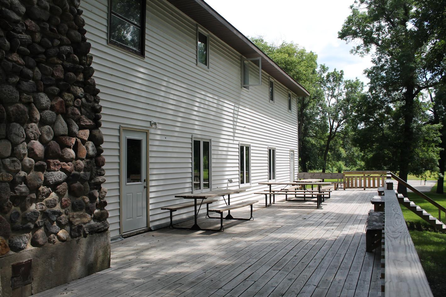 The Lodge - Backside