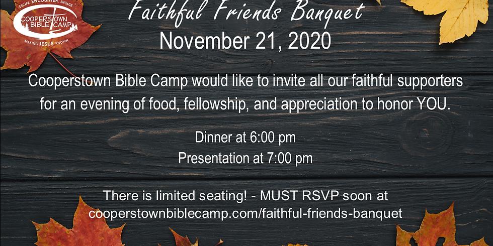 Faithful Friends Banquet