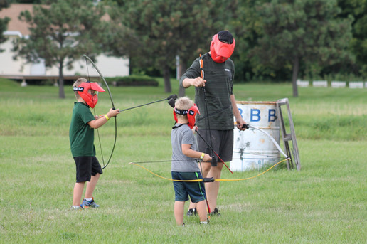 Family Camp 2016 - Archery Tag