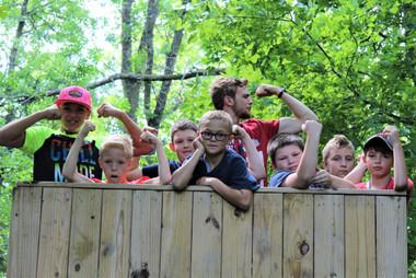 Low Ropes Jr. Camp