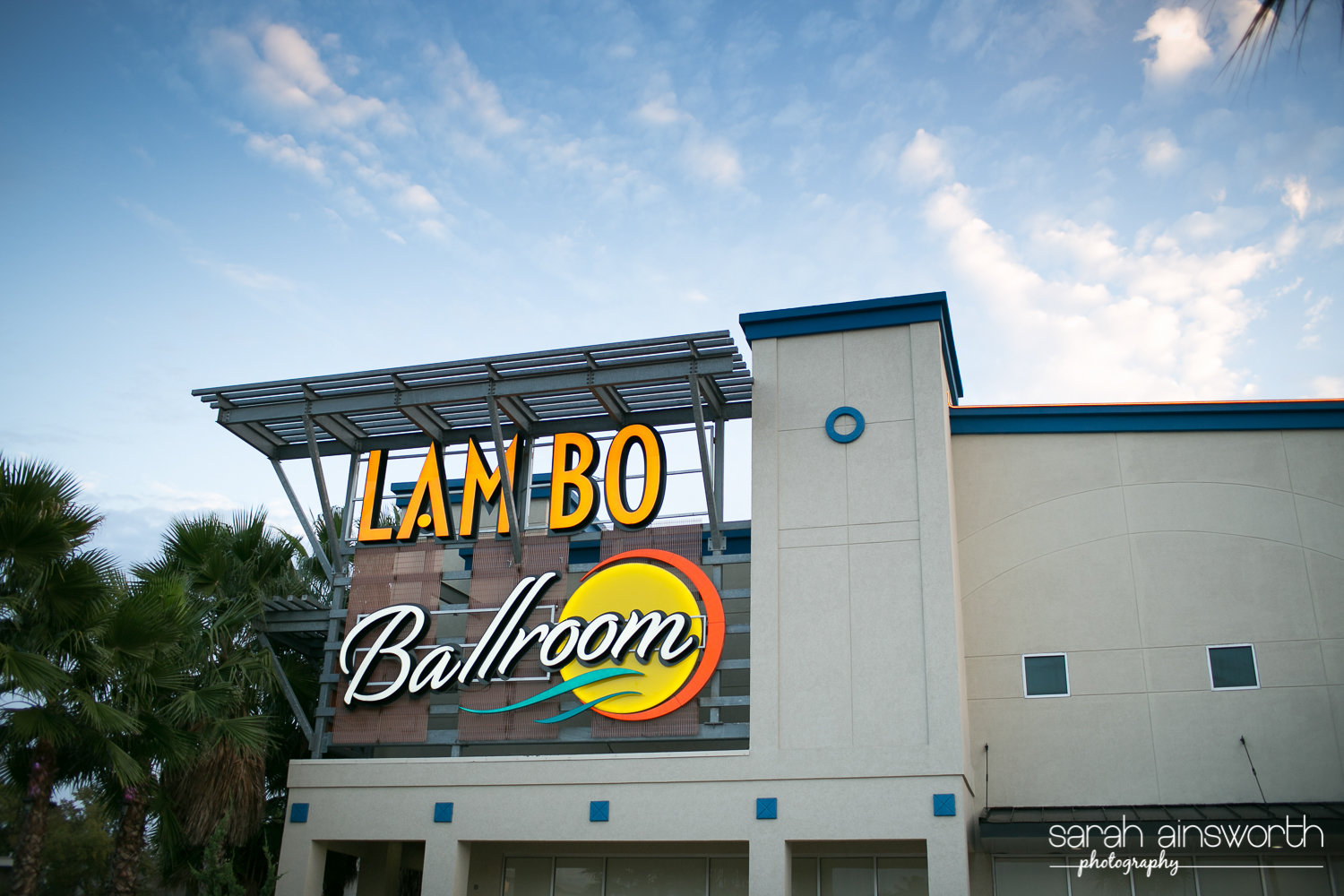Houston Ballroom Lambo Sign