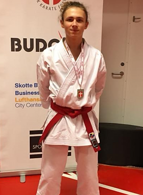 Instruktør Frederik E. Andersen Vicedanmarksmester u21 -60 kg 2018