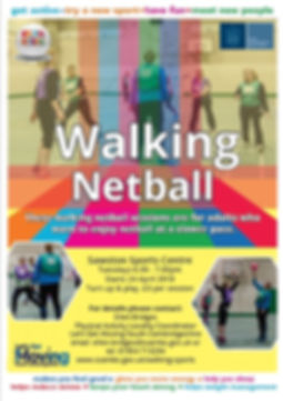 Walking Netball Flyer