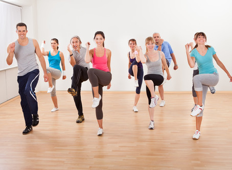 Dance Aerobics Comes to Northstowe