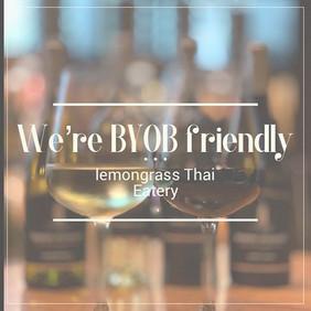 Superb Thai restaurant with BYOB friendl