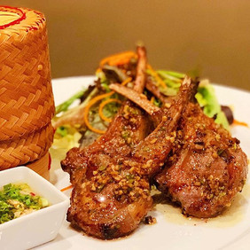 """At Lemongrass Thai Eatery, """"GAE YANG"""" (L"""