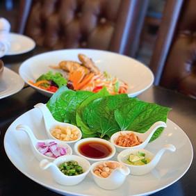 Miang Kham (one bite wrapped), a #lemong