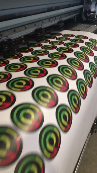 PA Designs Rasta Stickers