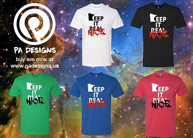 Keep It Real T-shirts