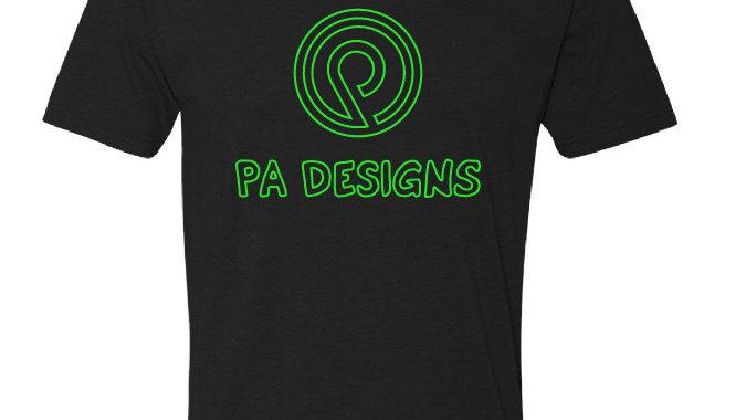 PA Designs Outline logo