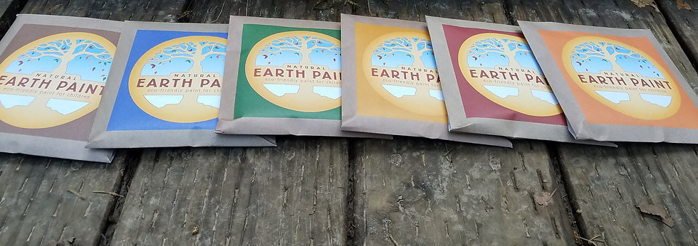 Natural Earth Paint - Individual Packets