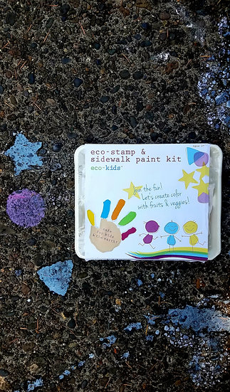 Eco-Stamp & Sidewalk Paint Kit