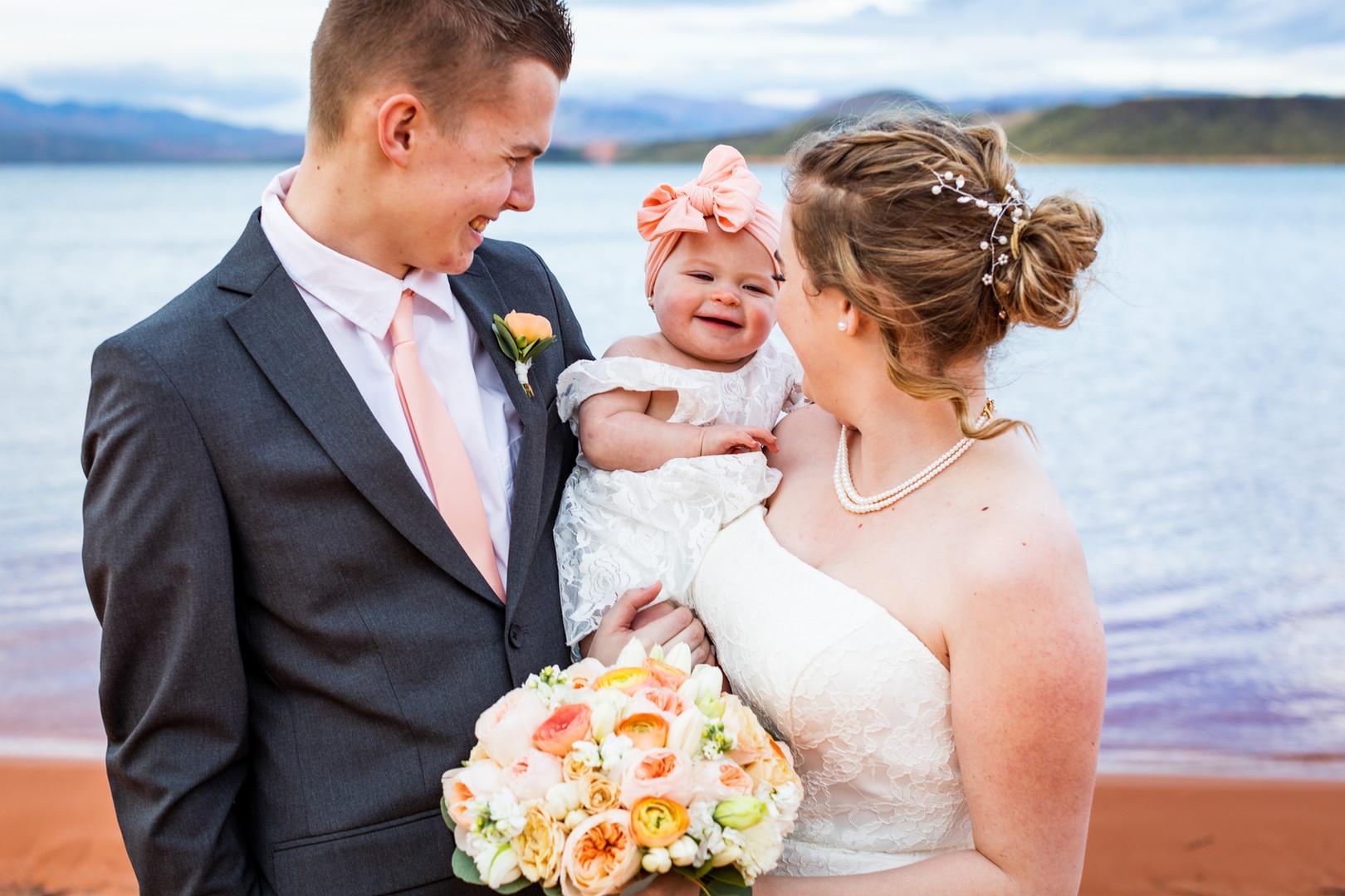 family wedding sand hollow