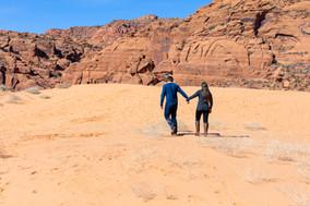 Sand Dunes Snow Canyon Elopement