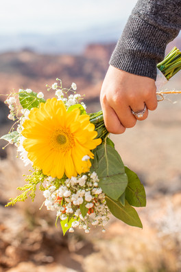 Snow Canyon Overlook Bouquet