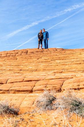 Petrified Dunes Snow Canyon Vow Renewal Venue