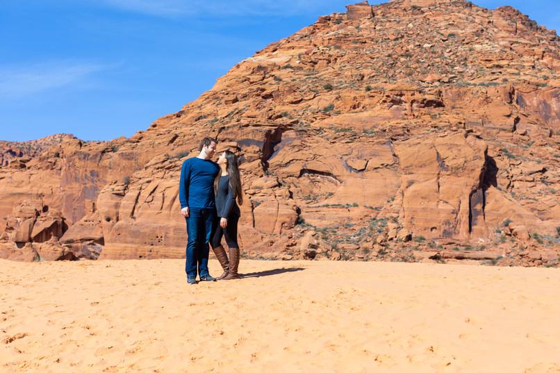 Snow Canyon Sand Dunes Wedding Venue