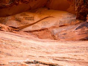 A Day at Snow Canyon                                                  Pioneer Names + Hidden Pinyon
