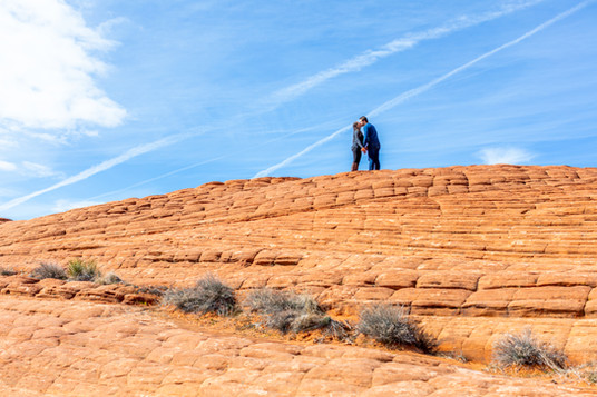 Petrified Dunes Snow Canyon Wedding Ceremony Venue