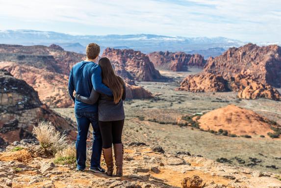 Snow Canyon Overlook Outdoor Wedding Venue