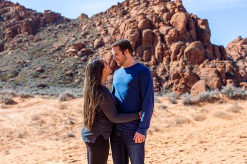 Sand Dunes Snow Canyon Outdoor Wedding Ceremony