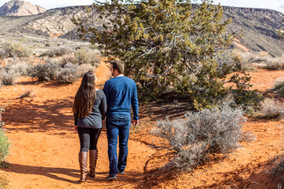 Petrified Dunes Snow Canyon Wedding Venue