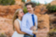 Elope Southern Utah - The happy couple l