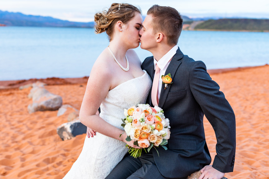 Sand Hollow Wedding