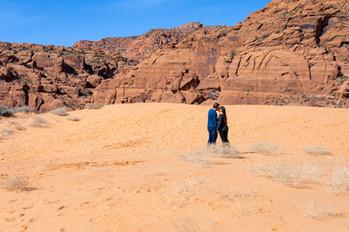 Sand Dunes Snow Canyon Elopement St. George
