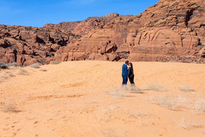 Sand Dunes Snow Canyon Elopement St. George