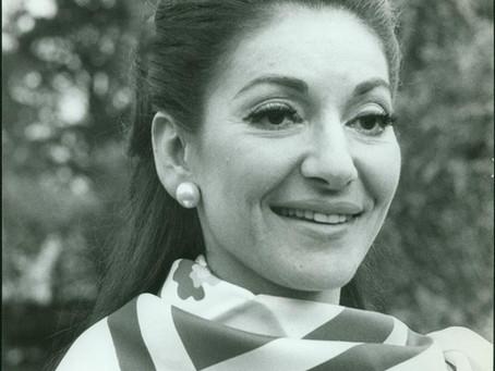 """Maria Callas giunta a Roma per la prova costumi nella """"Medea"""" di Pasolini"""