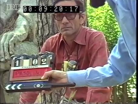 """""""Pier Paolo Pasolini: l'intervista sotto l'albero"""". Gideon Bachmann. Salò (1975)"""