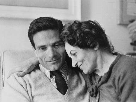 27 gennaio 1950. Pasolini e sua madre lasciano Casarsa verso Roma
