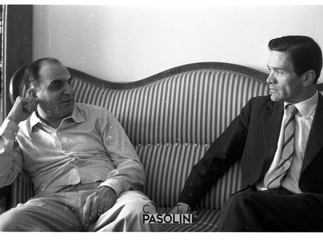 """Attilio Bertolucci: """"Caro Pier Paolo Pasolini, non so se le genziane"""". Intervista del 1992, Corriere"""