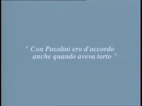 """""""Sotto il segno del rimpianto"""". Pier Paolo Pasolini e Leonardo Sciascia. L'Unità 1991"""