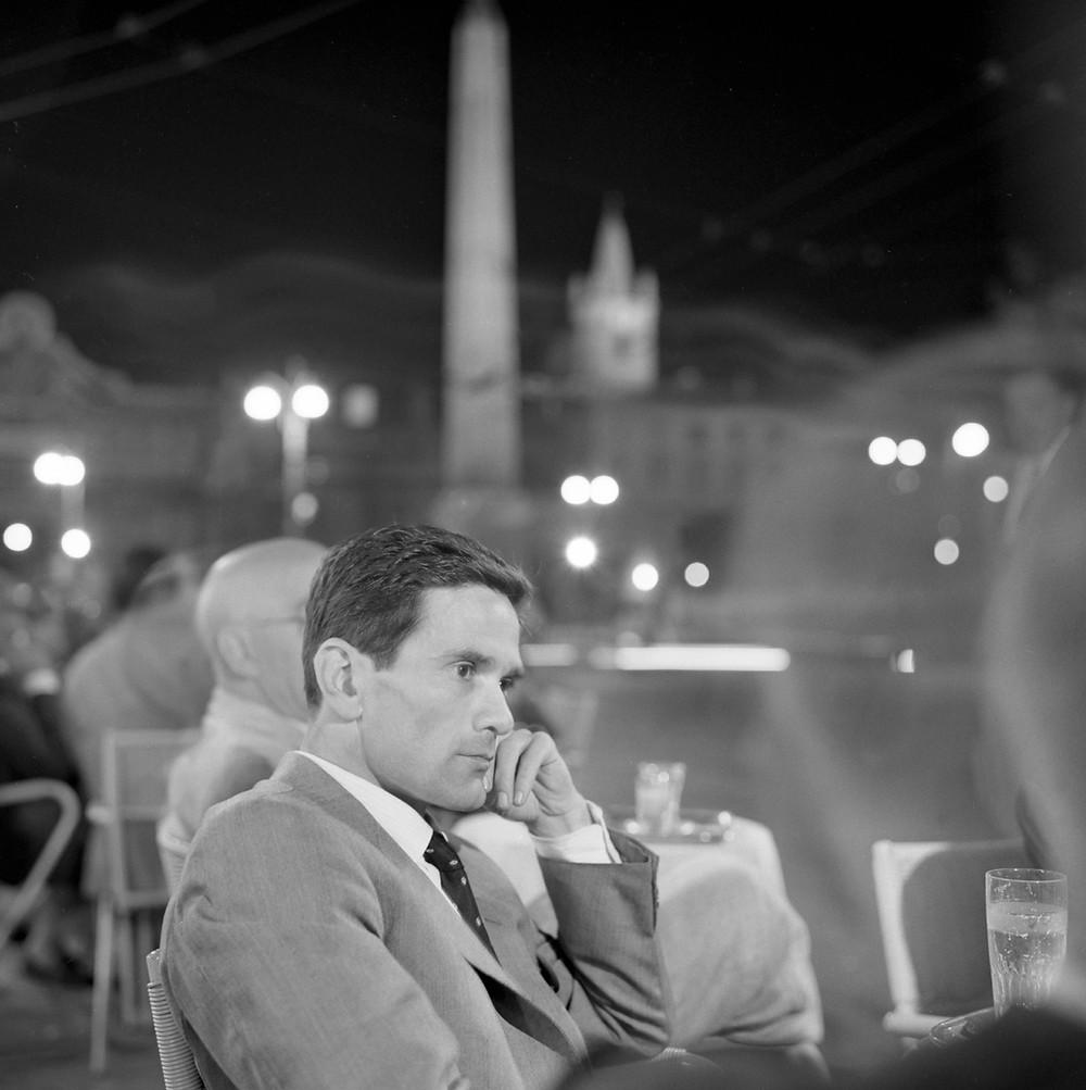 Pier Paolo Pasolini_Roma_Piazza del Popolo