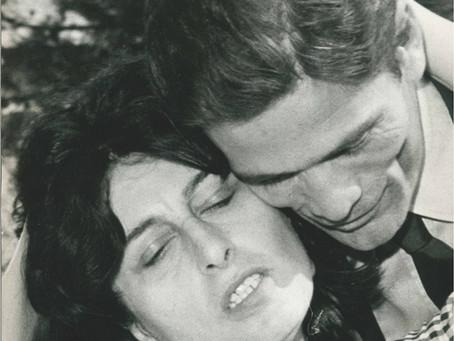 Pier Paolo Pasolini e Anna Magnani a Venezia per 'Mamma Roma' (1962)
