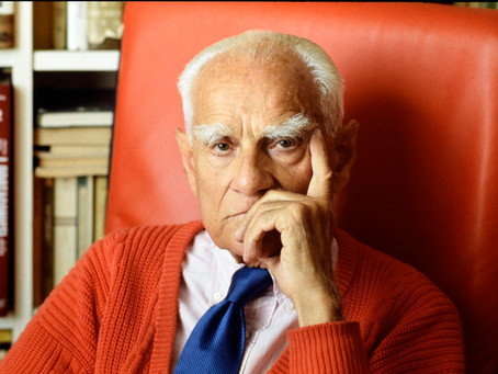 """""""Non riusciva a scrivere la morte di Pasolini"""". Moravia raccontato da Alain Elkann."""