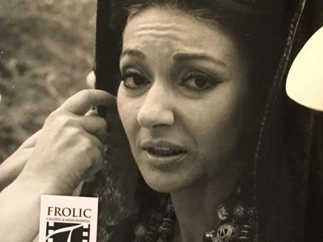 Maria Callas è sostituita durante le riprese di Medea.