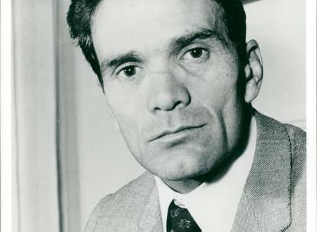 Il glicine, una poesia di Pier Paolo Pasolini