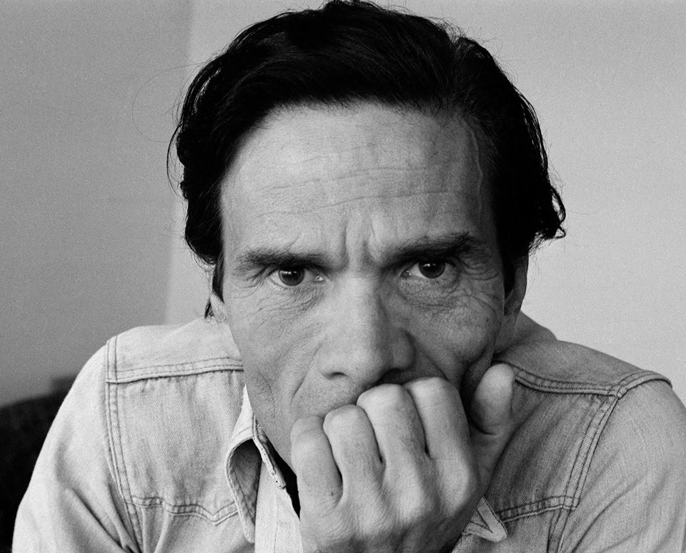 Pier Paolo Pasolini immortalato da Dino Pedriali (1975) © Dino Pedriali